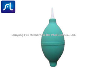 China Green Soft Rubber Suction Bulb With Plastic Syringe Needle Durable Multifunctional supplier
