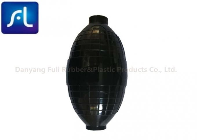 Black Environmental Protection Air Puffer Bulb , OEM Orders Rubber Air Blower 0
